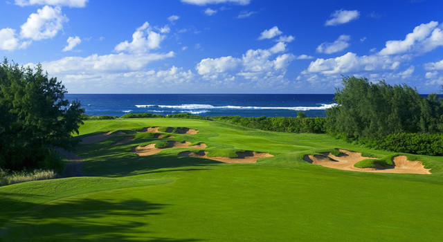Turtle Bay, Palmer Course hole 17