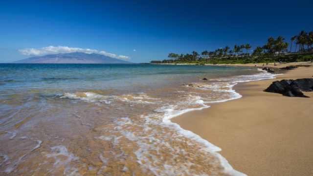 Beach at Wailea, Maui, Hawaii