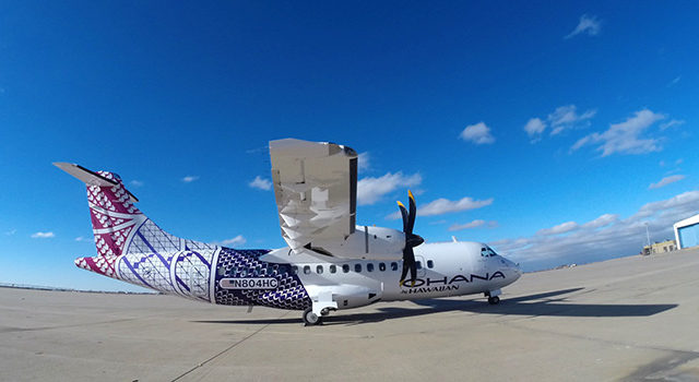 Hawaiian Airlines Ohana by Hawaiian aircraft